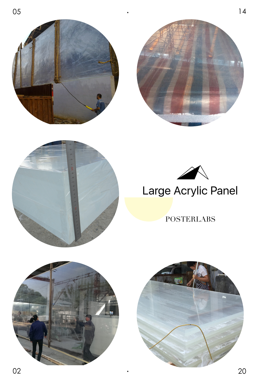 Clear Acrylic Sheet Used For Swimming Pool