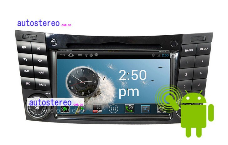 Android Car Stereo DVD Player with GPS for M-Bz CLK SLK Vaneo Viano Vito