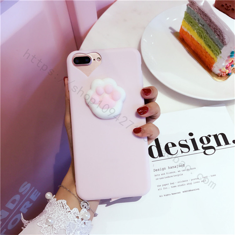 3D Cute Toys Squishy phone cover case for iPhone