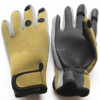 Neoprene Fishing gloves easy to grip fishing tackle
