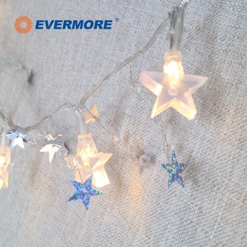 Evermore LED Decorative Garden Solar Star String Lights for Christmas Decoration