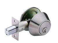 Deadbolt lock D101-SC satin chrome schlage single cylinder locks deadbolt door lock