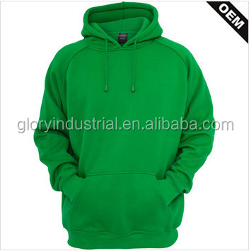 100% cotton customed wholesale plain blank pullover hoodies