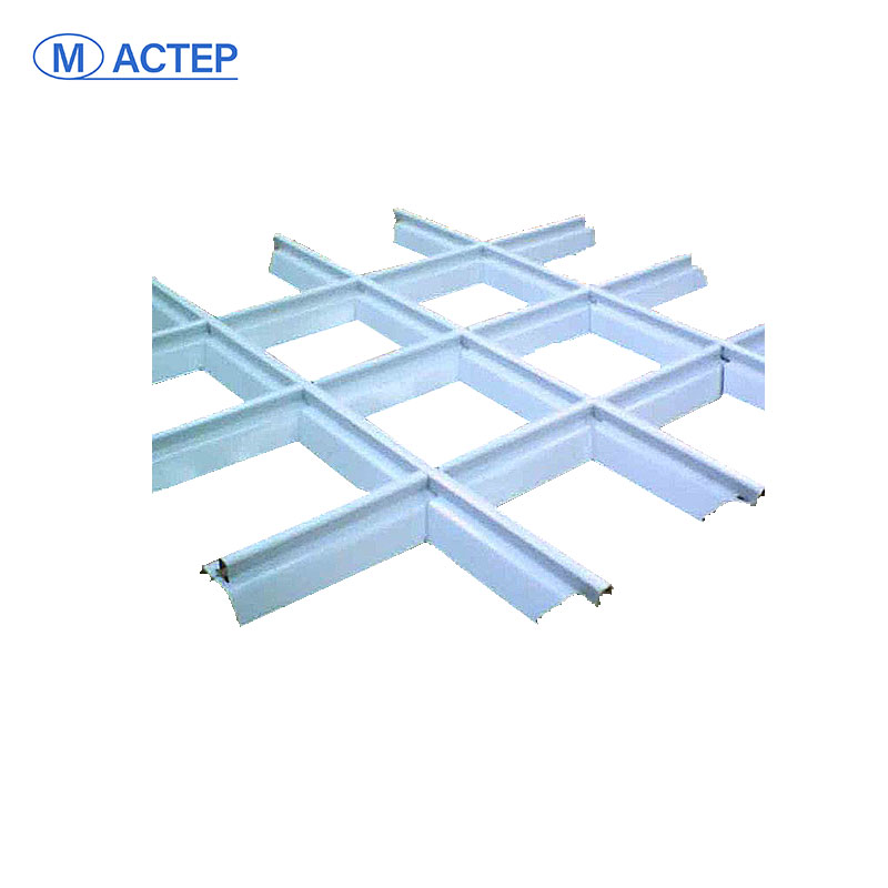 Good quality Painted Suspended Ceiling Hanger Groove T Grid Ceiling Grid Components Type