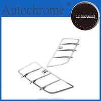 Decorative car accessory accent, Car styling chrome hood air vent trimming for Merecedes Benz W164