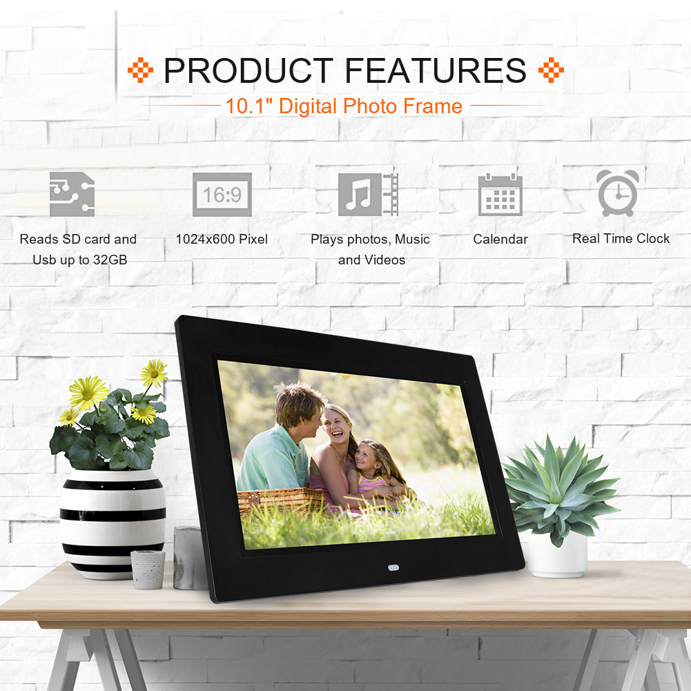 2019 Chinese suppliers 10.1 Inch Picture Frames Android Digital Photo Frame