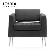 2017 new design office furniture single gray office fabric sofa