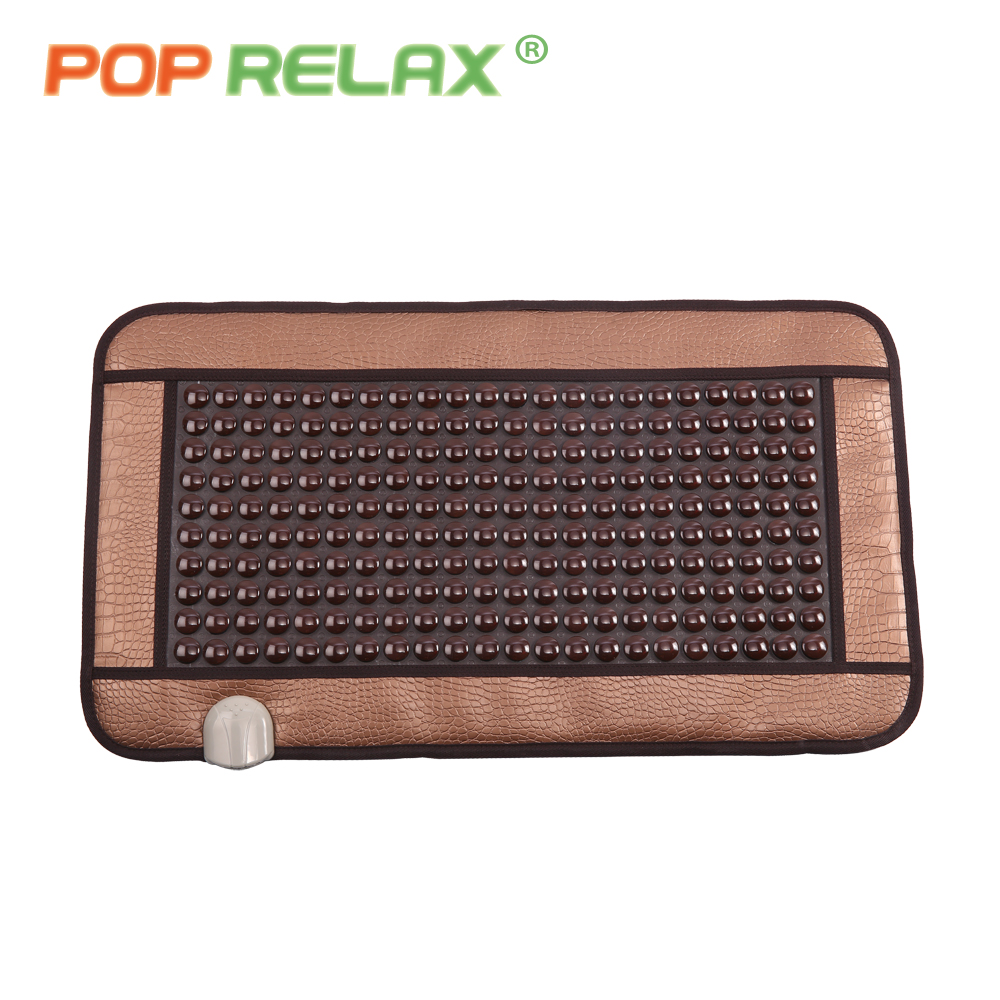 POP RELAX Korea quality health care mattress FIR tourmaline germanium electric heating pad physiotherapy thermal jade stone mat