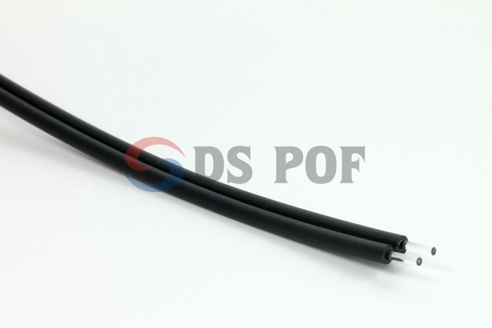 Multicore PMMA plastic optical fiber for communication