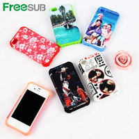 Empty White Blank Sublimation Silicon Cell Phone Case