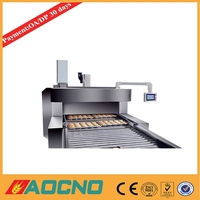 AOCNO automatic tunnel conveyor microwave food industry oven