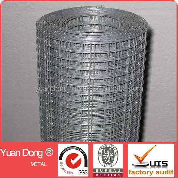 high quality 3x3 galvanized welded wire mesh roll made in china