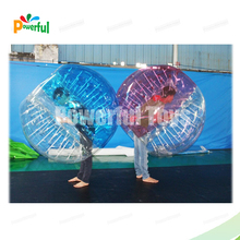 hot sale funny and durable soccer bubble inflatable human bowling ball for adult