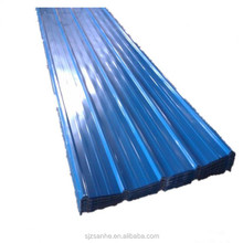 zinc aluminium alloy coated corrugated steel roofing sheet