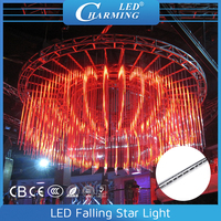 Christmas meteor double sided LED Falling Star lights