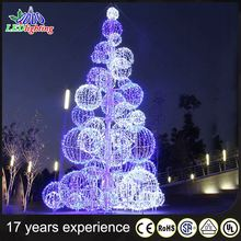 Hot Sale Custom Cheap 2016 Christmas Decorations giant christmas ball tree
