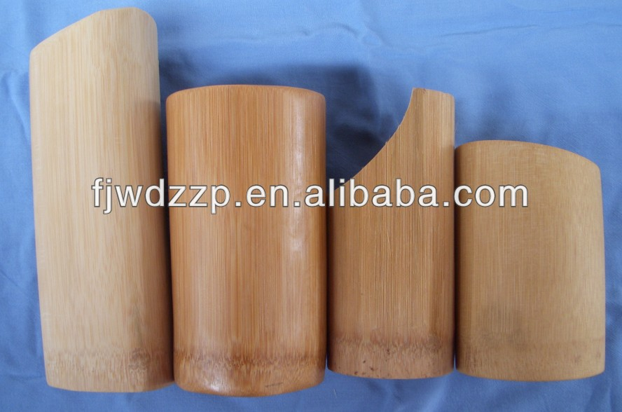 Custom Round bamboo box/tube with cooking utensils