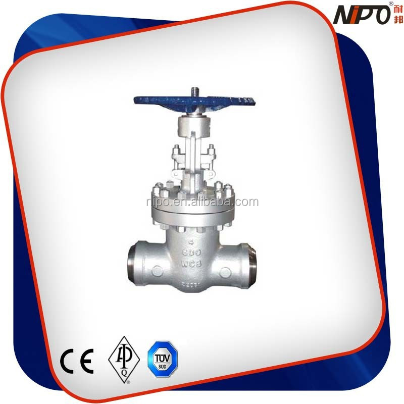 Cast Steel/WCB Butt Welded Gate Valve