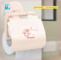 Cheap PVC vacuum suction paper holder bathroom tissue holder kitchen towel rock