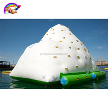 Lake water games inflatable iceberg water toy for sale