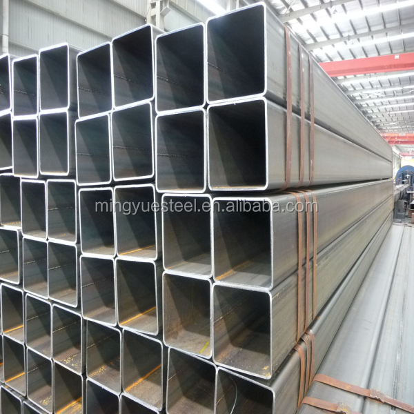 black square pipe seamless low carbon steel tube welded pipe