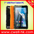 7 inch Touch Screen Quad Core WIFI GPS 3G Rugged Style Android Tablet MEDIAFLY K7