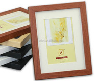 Wholesale ex-factory price fashion home decoration funny photo frame 3d nude photo girls sex body pic wood frame glass p