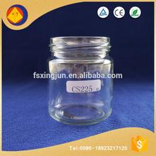 Factory direct sale modern restaurant fat honey bottles wholesale