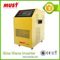 <MUST> 6000W dc 48V to ac230v pure sine wave inverter with battery charger