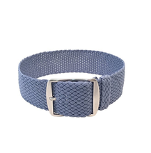 Benchmark Straps Perlon Woven Soft Nylon Watchband Perlon Watch Strap