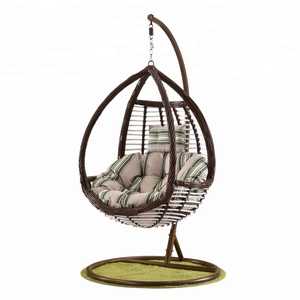 Hanging egg chair indoor swing chair