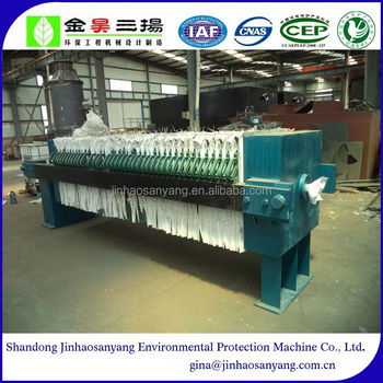 XYMA type automatic plate frame filter press equipment