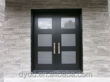 new product china wholesale frosted glass exterior door