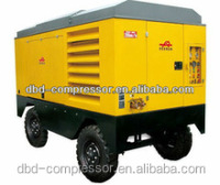 portable diesel air compressor for mining