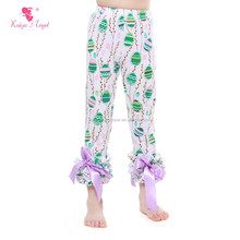 2017 girl legging children pant Easter sew sassy icing legging