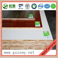 Melamine used laminated E0 grade surface wood board sheets for sale