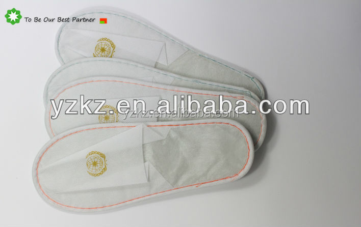 Cheap Price Non Woven Close Toe Disposable Hotel Slippers