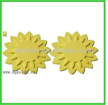Sunflower shaped silicone mat