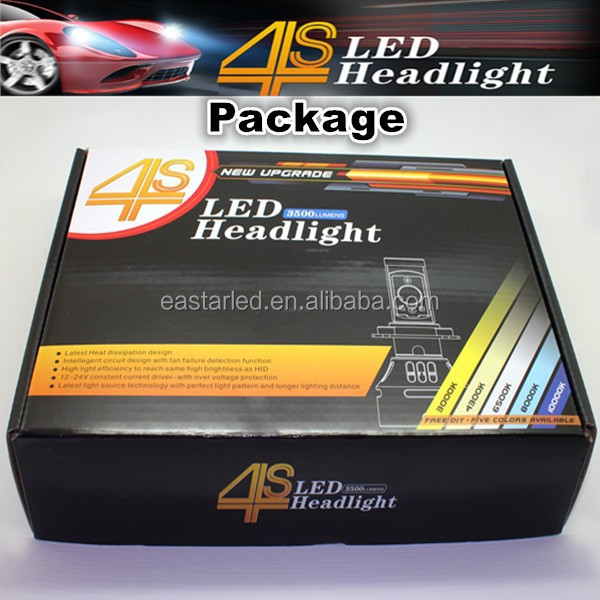 Eastar 4S new headlight auto led headlight h4 car kit