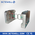 Security Pedestrian Swing Barrier Gate Fully- automatic Swing Turnstile with Access Control