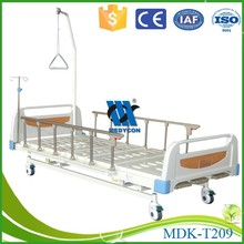 Comfortable for the elderly hospital bed manual adjustable