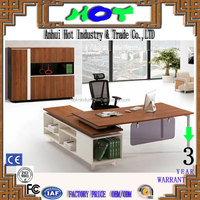 Modern Ready Assembled Office Furniture MDF Wooden Executive L Shaped Office Counter Table Office Furniture Design