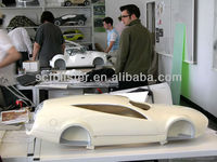 Remote vacuum formed plastic car body cover