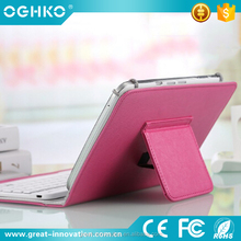 hands design foldable leather case with bluetooth keyboard for ipad