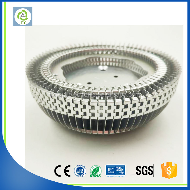 high power 30w round extrusion led heat sink easy to use