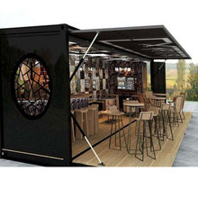 pop up 20ft coffee bar and bar cafe for mobile container bar