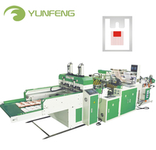 Yunfeng automatic biodegradable plastic bag making machine