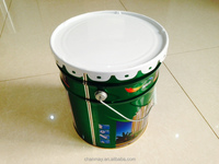 18L Tin can with steel handle for paint, coating or other chemical products