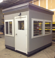 Nice design of China made security cabins design, small security cabins, portable cabins