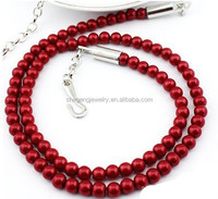 Candy Imitation Pearls Simple Slim Summer Cloth Waist Chain Dress Belt